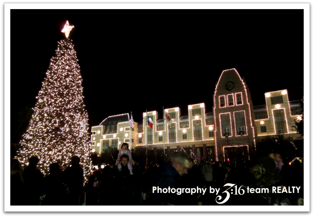 Frisco Tx Christmas Tree Lighting And Kid S Holiday Shopping