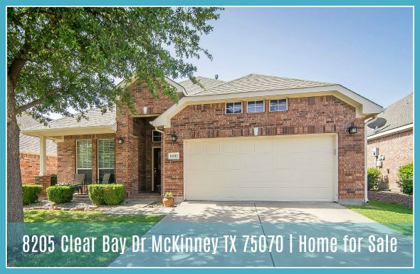 8205 Clear Bay Dr Mckinney Tx 75070 Home For Sale